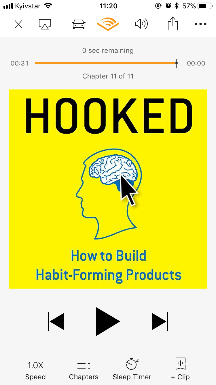 Hooked: How to Build Habit-Forming Products by NirEyal
